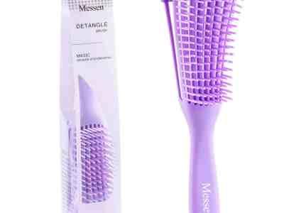 Amazon: Messen Purple Detangling Brush ONLY $2.99