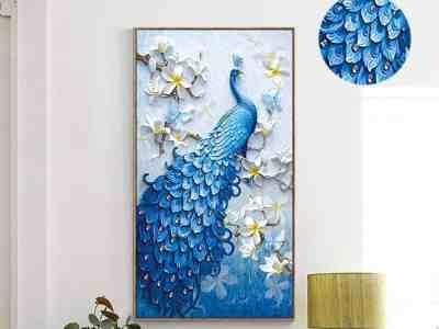 Walmart: Peacock 5D DIY Diamond Painting Kit ONLY $17.88 (Reg. $22.00)
