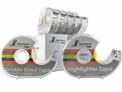 Amazon: Double Sided Tape + 1 Pack Highlighter Tape for $7.46 (Reg. Price $10.97)
