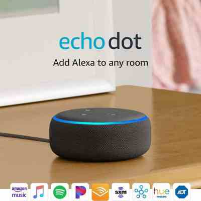 Amazon: Echo Dot (3rd Gen) - Smart speaker with Alexa ADD 2 Use Code