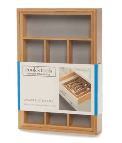 Belk: Cooks Tools Bamboo Flatware Tray Now $15.00 (Reg $40.00 )