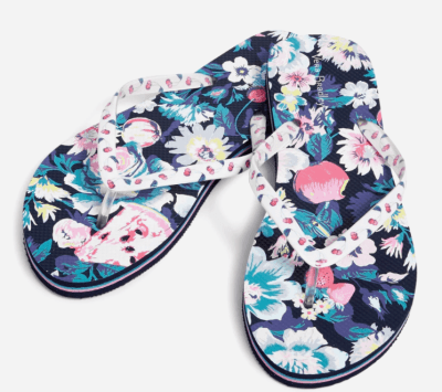 Vera Bradley: Flip Flops ONLY $12.50 (Reg $25) – Many Designs!