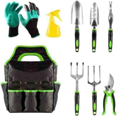 Amazon: 9 Piece Heavy Duty Gardening Tools with Garden Gloves $15.5 (Reg $31)