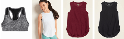 Old Navy: Girl's AcOld Navy: Girl's Activewear Starting at JUST $6.50 (Reg $13)tivewear Starting at JUST $6.50 (Reg $13)