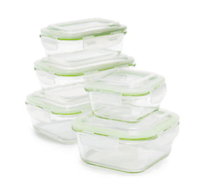 Belk: 10-Piece Glass Storage Set Now $15.00 (Reg. $40.00)