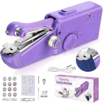 Amazon: Handheld Sewing Machine for $12.34 W/Code (Reg. $18.99)