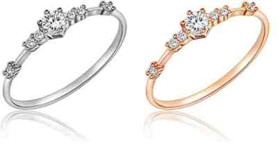 Amazon: 7 Tiny Diamond Pieces of Exquisite Ring $4.99 (Reg. $10)