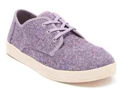 Zulily: Lavender Gray Melange Paseo Sneaker – Women ONLY $17.99 (Reg $40)