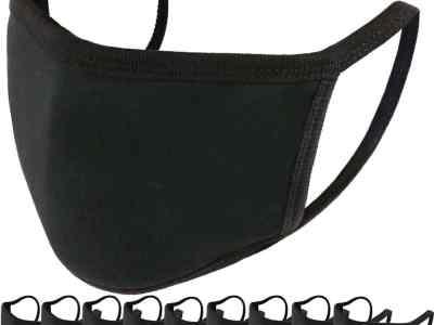 Amazon: Unisex Cotton Reusable Face Mask, 10 Pack for $11.69 (Reg. $25.99)
