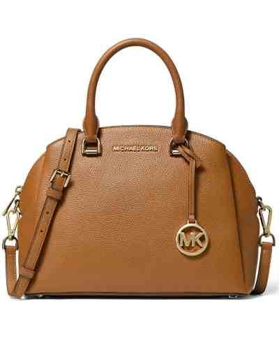 Macy's: Michael Kors Maxine Medium Dome Satchel Now $149 (Reg. $298)