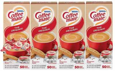 Amazon: Nestle Coffee-Mate Coffee Creamer Singles 200 Count ONLY $11.06
