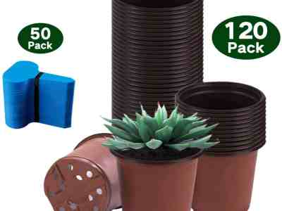 Amazon: Nursery Pots,120 Packs 4 Inches for $7.79 (Reg. Price $12.99)