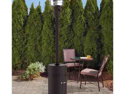 Walmart: Mainstays Large Outdoor Patio Heater, Powder Coat Brown ONLY $99.00