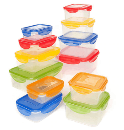 Belk: 24-Piece Plastic Storage Set with Snap Lid Only $15.00