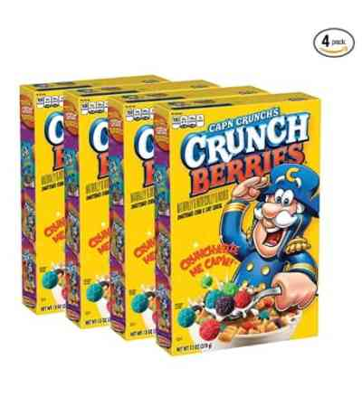 Amazon: Pack of 4 Cap'n Crunch Crunchberries for $6.90 (Reg. Price $8.63)