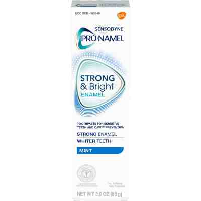 Amazon: Sensodyne Pronamel Strong and Bright Enamel Toothpaste, Get 3 for the price of 2!!