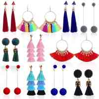 Amazon: Outee 11 Pairs Tassel Earrings Only $5.99