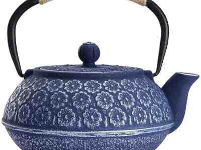 Amazon: Cast Iron Teapot, Japanese Style Tetsubin Only $22.49