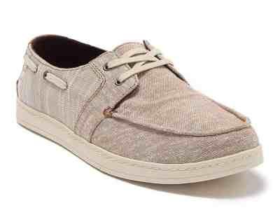 Zulily: Toffee Culver Slub Chambray Slip-On Sneaker – Men ONLY $21.48 (Reg $65)