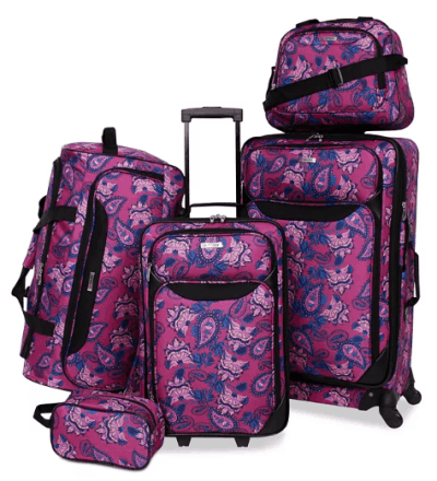Macy's: Tag Springfield III Printed 5-Pc. Luggage Set for $59.99 (Reg. $240.00)