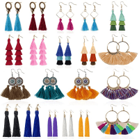 Amazon : Tassel Earrings for Women - 20 Pairs Just $9.95 W/Code (Reg : $18.88)