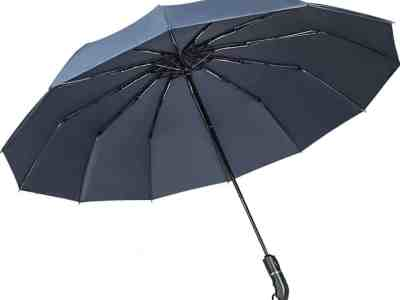 Amazon: 50 Inches Umbrella Windproof ONLY $10.99
