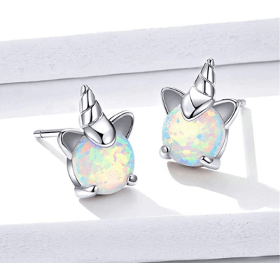 Amazon: BAMOER 925 Sterling Silver Unicorn Earrings For $8.49