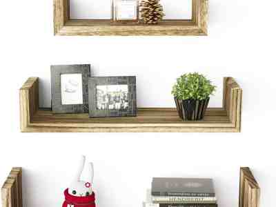 Amazon: Solid Wood Wall Shelves, 3 Count For $12.99 (Reg $19.99)