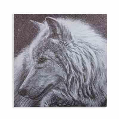 Home Depot: Arthouse Dusted Glitter Wolf Unframed Canvas Wall Art $13.99 (Reg $29.99)