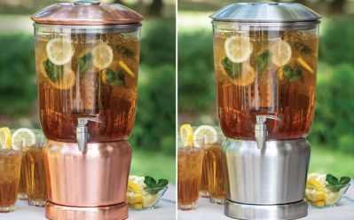 Sam's Club: 3-Gallon Beverage Dispenser with Infuser ONLY $29.98 (Reg $56)