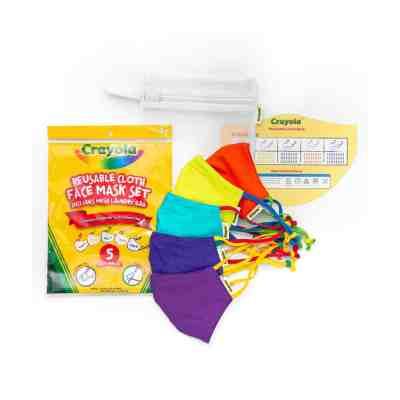 Sam's Club: Crayola Kids' 5-Pack Reusable Face Mask JUST $22.98