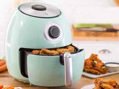 Belk: Dash 6-Quart Family Air Fryer with Cookbook JUST $50 (Reg $130)