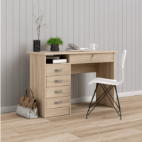 Tvilum Walden Desk with 5 Drawer $79!!