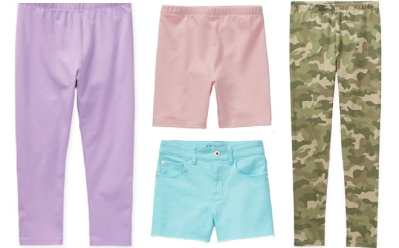 JCPenney: Girls' Leggings & Bike Shorts Up to 60% OFF – Starting at ONLY $3.74