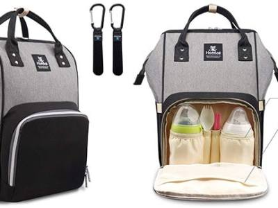 Amazon: Hafmall Diaper Bag Backpack Just $32.98 + Free Shipping (Reg $52.99)