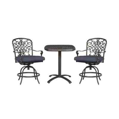 Home Depot: Balcony Chair with Standard Sky Blue Cushions (3-Pack) ONLY $259.99 (Reg $400)