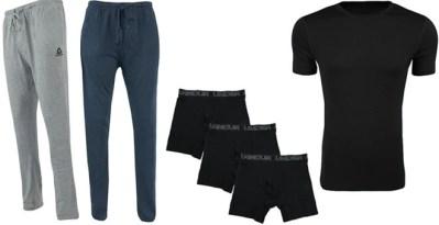 Proozy: Reebok Men's Loungewear Pants, T-Shirt & Under Armour Boxers Set $24.99 (Reg $100)