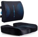 Amazon: Memory Foam Coccyx Seat Cushion & Lumbar Support Pillow for $33.14 (Reg. $38.99)