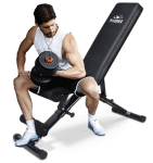 Amazon: Adjustable Bench,Utility Weight Bench for $152.99 (Reg. $309)