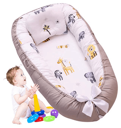 Amazon: Baby Nest Bed Elephant for $34.50 W/ Code (Reg. $69)