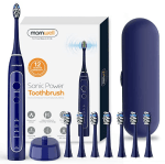 Amazon: Blue Powerful Sonic Vibrating Toothbrush for $12.60 W/Code (Reg. $35.99)