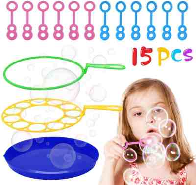 Amazon: 15PCS Bubble Wand Set 80% off W/ Code