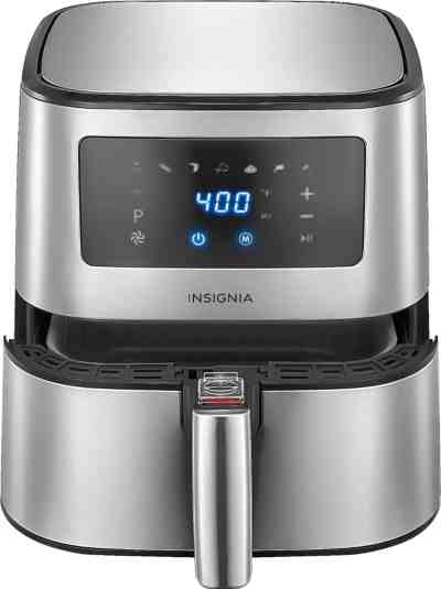 Best Buy: Insignia™ - 5-qt. Digital Air Fryer - Stainless Steel For $59.99 At (Reg.$119.99)