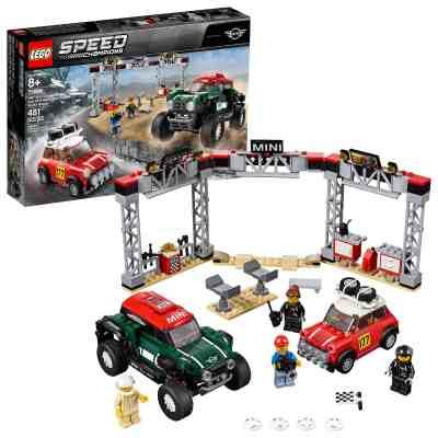 Walmart: LEGO Speed Champions 1967 Mini Cooper S Rally and 2018 MINI J 75894 Just $40.00 At (Reg. $49.99)
