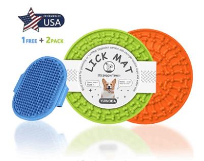 Amazon: YUWODA Licking Mat for Dogs & Cats for $2.98 W/ Code (Reg. $10.97)