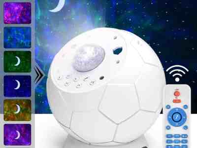 Amazon: Star Projector with LED Nebula Cloud Moon for $32.99 (Reg $54.99)