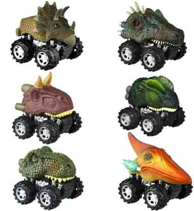 Amazon: 6 Pack Pull Back Dinosaur Cars for Kids for $8.99 (Reg. $14.99)