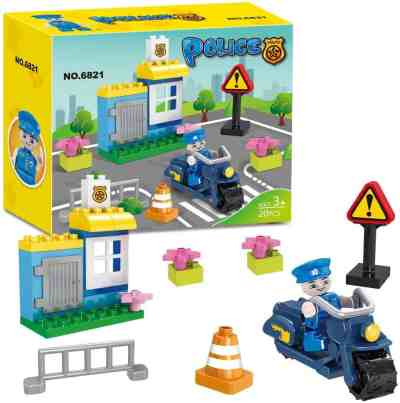 Amazon: Police Station Building Blocks Toy Set for $6.50 (Reg. $12.99)