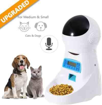 Amazon: Automatic Pet Feeder, Food Dispenser Now $37.04 (Reg $56.99)