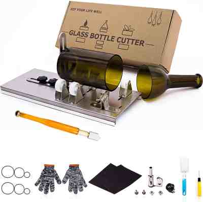 Amazon: 40% OFF on Glass Bottle Cutter by Camdios